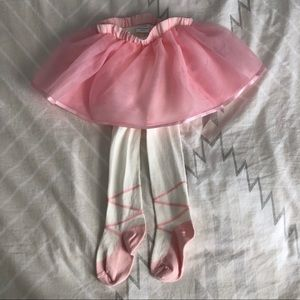 Gymboree 2-in-1 Tutu & Ballerina Tights 18-24 mos